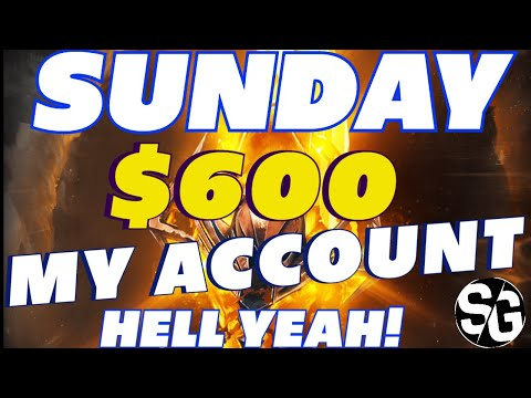 $600 SUNDAY SUMMONS MY ACCOUNT 2X SACRED  RAID SHADOW LEGENDS