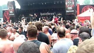 Hatebreed Live with Mosh Pit (Mayhem Fest 2011)