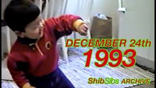 CHRISTMAS EVE... 1993! - ShibSibs Archive