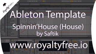 Ableton Live House Template - Spinnin'House 8 by Saftik