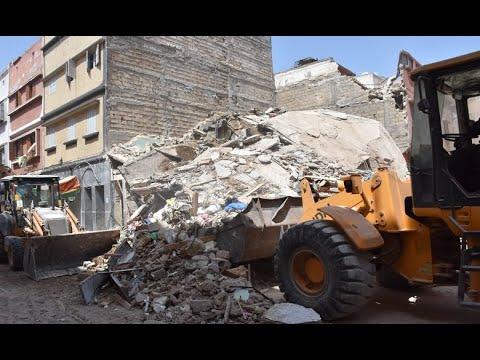 Video : Effondrement d'une maison à Casablanca : Les voisins témoignent