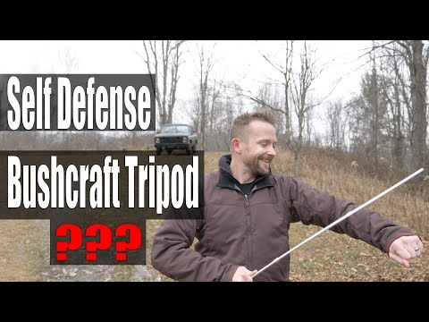 What The ??? - Bushcraft Tripod Weirdness   Review