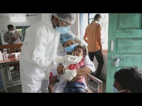 La India supera los 7 millones de casos de COVID-19