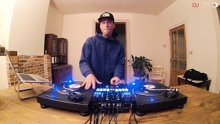 DJ Cross Performs Routine Using Skrillex and Rick Ross' 'Purple Lamborghini'
