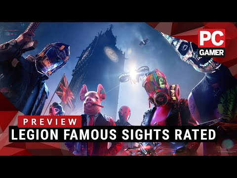 Watch Dogs Legion Famous Sights Rated