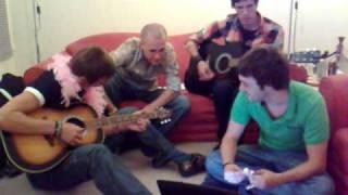 Nick, Mart, Matt & Gwil do Kasabian