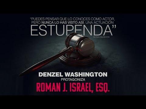 ROMAN J. ISRAEL. Nunca se echa atrás. En cines 4 de mayo.