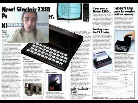 ZX-81 | - TOP 25. Fin Serie (3/3) - | 1981-1985. Sinclair
