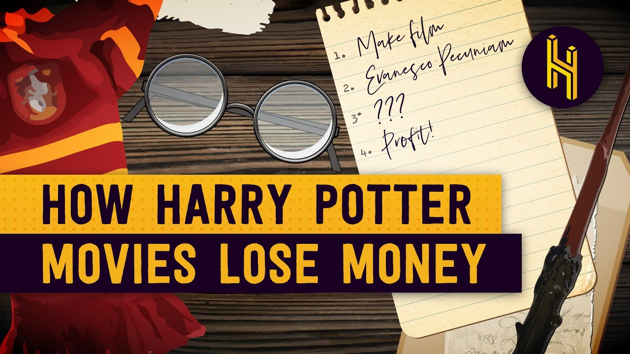 How Harry Potter Movies technically Lost Money