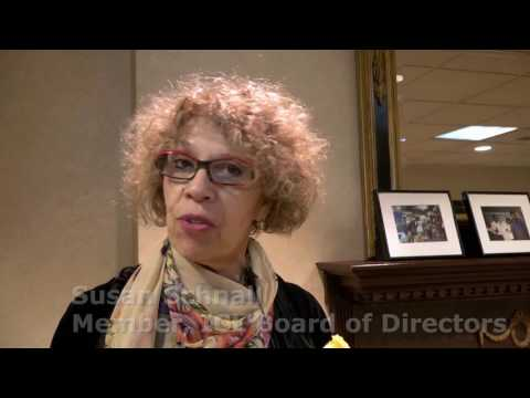 Susan Schnall at ICL's 30th Anniversay Gala