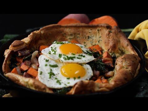 How To Make A Savory Dutch Baby ? Tasty