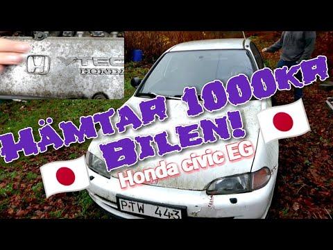 Hämtar hem 1000kr Hondan - projekt budget