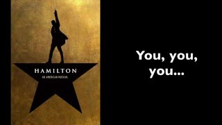Hamilton | Burn [Instrumental/Karaoke With Lyrics]