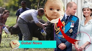 Kate DOES NOT join with William on her African tour because she's pregnant with a fourth child