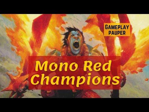 (PAUPER) Mono Red Champions!
