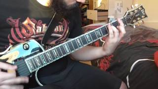 Sabaton - The Last Stand, guitar cover.