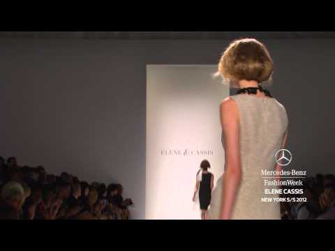 Elene Cassis Mercedes Benz Fashion Week Spring 2012
