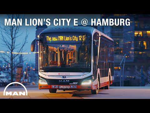 MAN Lion's City E Hamburg Presentation