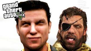GTA 5 Character Mods: Max Payne, Snake, Nathan Drake & More