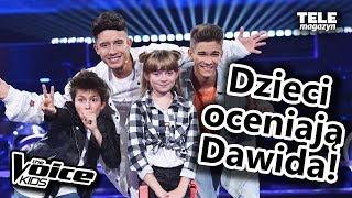 """Jakim Trenerem """"The Voice Kids"""" jest Dawid Kwiatkowski?"""