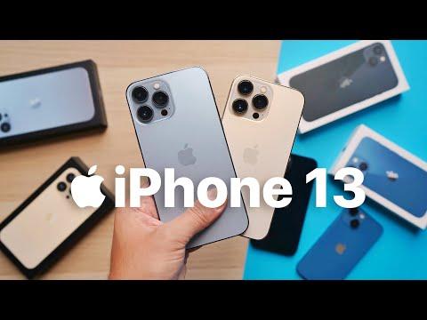 ECCO TUTTI gli  iPhone 13!