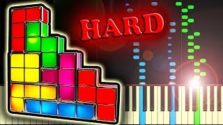 TETRIS THEME - Piano Tutorial