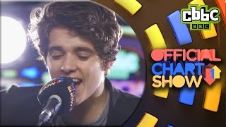 The Vamps 'Rest Your Love' live on CBBC Official Chart Show