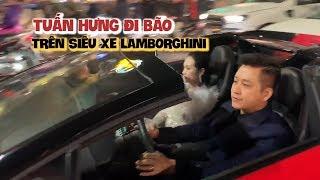 Tuấn Hưng chở vợ đi bão trên siêu xe Ferrari 15 tỉ mừng Việt Nam thắng Jordan