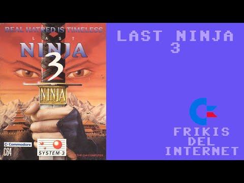 Last Ninja 3 (c64) - Walkthrough comentado (RTA)
