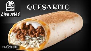 Taco Bell Quesarito Recipe  #Veganized