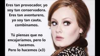 My Same / Adele. (Letra en español.)