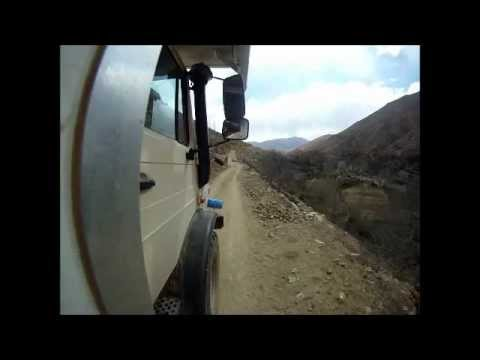 Unimog has a Tight Squeeze in Morocco (Short version)