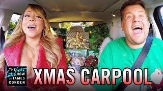 'All I Want for Christmas' Carpool Karaoke width=