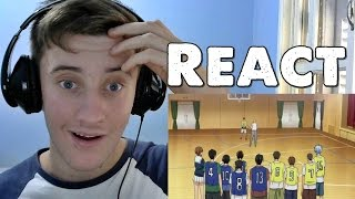REACT Kuroko no Basket–Episódio 02–Falo Sério