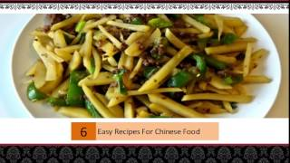 Easy Recipes For Chinese Food