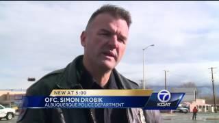 Video: Man hunt in Albuquerque