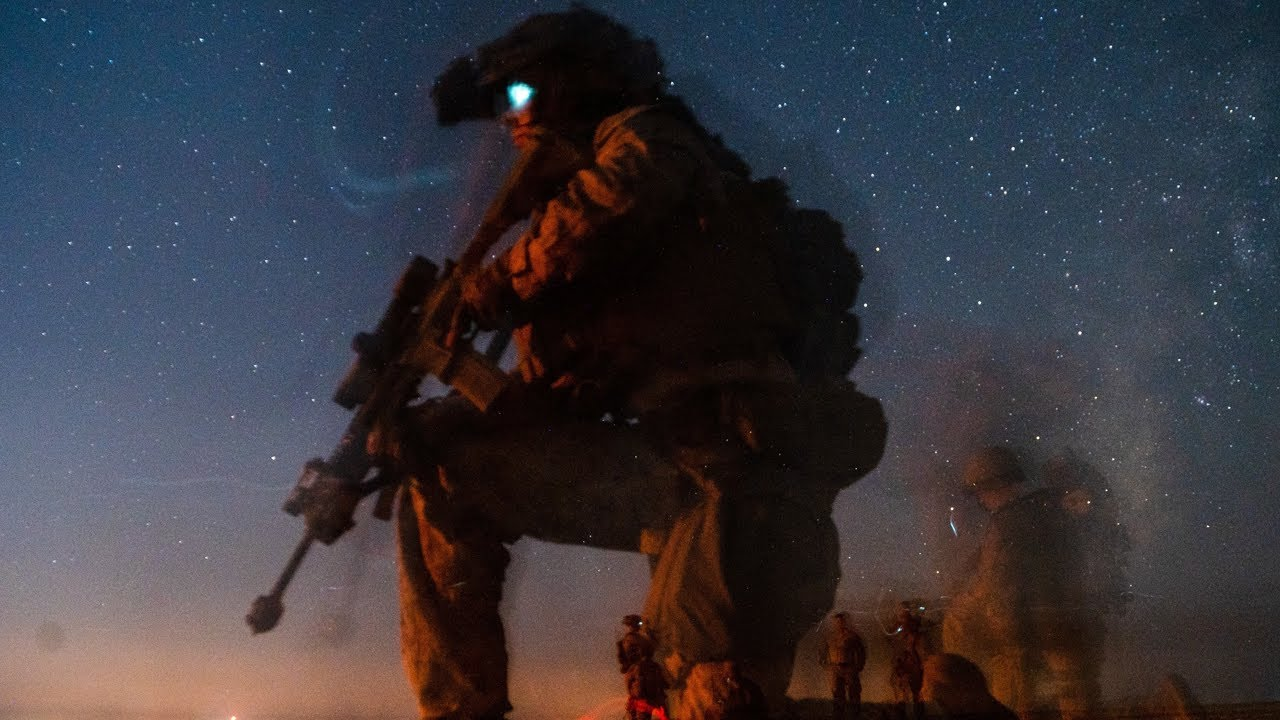 US Marines • Day and Night Live-Fire Attacks • Camp Lejeune, N.C., Oct. 13-14, 2021