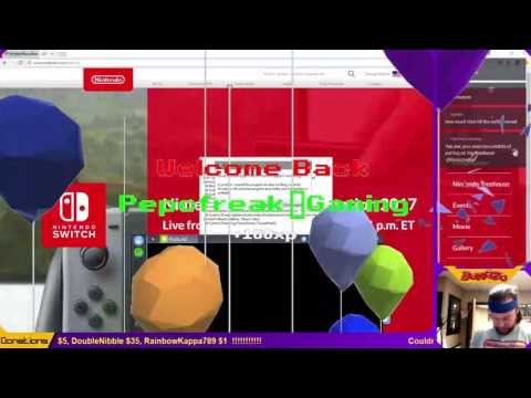 Official Nintendo swag #giveaway with Nintendo #GameDev Matt Harmon during Switch Presentation!