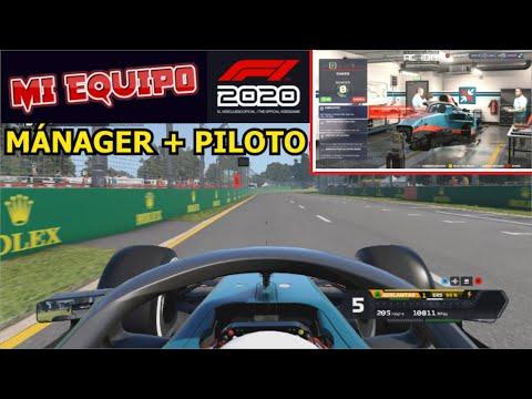 F1 2020 MI EQUIPO (PC) - El nuevo modo de juego Manager + Piloto || GAMEPLAY en Español