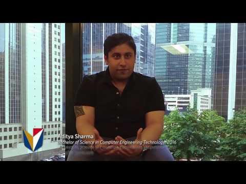 DeVry University Student Testimonial - Aditya Sharma