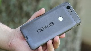 Toast Leather Cover For The Nexus 6P - Install And Hands-On