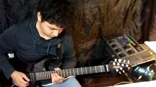 John Lennon - Mind Games [ Tribute Guitar Solo by  Eric Vera ]