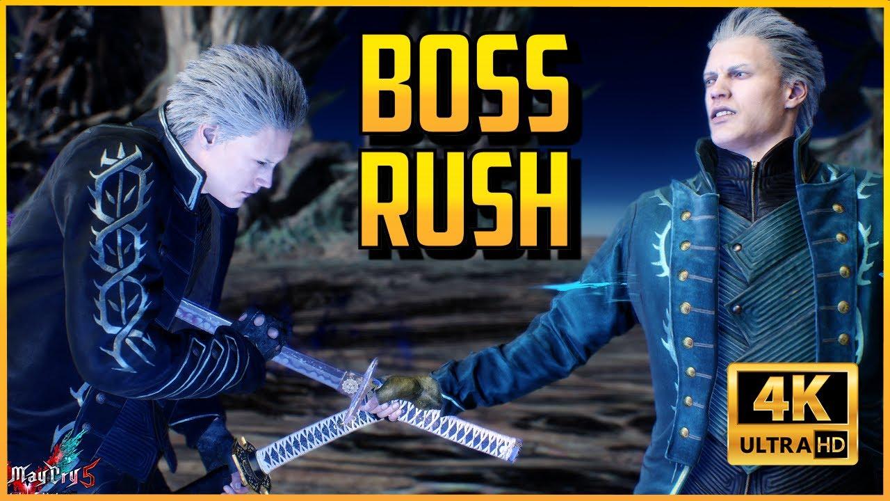 Xuses - DMC5SE ▰ Vergil Bloody Palace Boss Rush - No Damage【Devil May Cry 5: Special Edition】