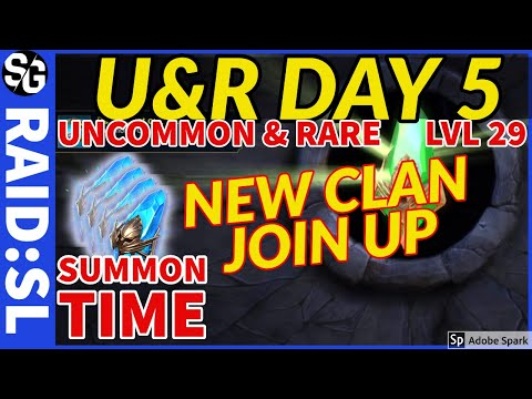 RAID SHADOW LEGENDS | DAY 5 UnR ACCOUNT | F2P + SUMMONS TIME