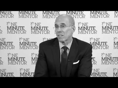 Hearst One Minute Mentor: Jeffrey Katzenberg on Innovation