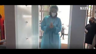 Don de sang : Le CRTS se dote d'une cabine de désinfection 100% marocaine face au Covid-19