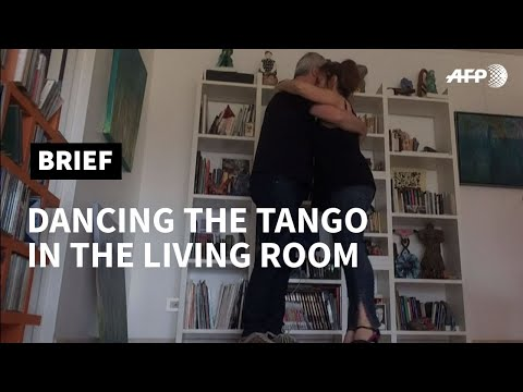 Argentina's tango glides into the living room due to pandemic   AFP photo