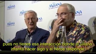 Entrevista Ron Clements y John Musker, directores de Moana