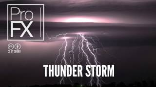 Thunder Storm | Best sound effects | ProFX (Sound, Sound Effects, Free Sound Effects)