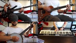 Dropkick Murphys - I'm Shipping Up to Boston - Guitar, Bass, Banjo & Keyboard Cover